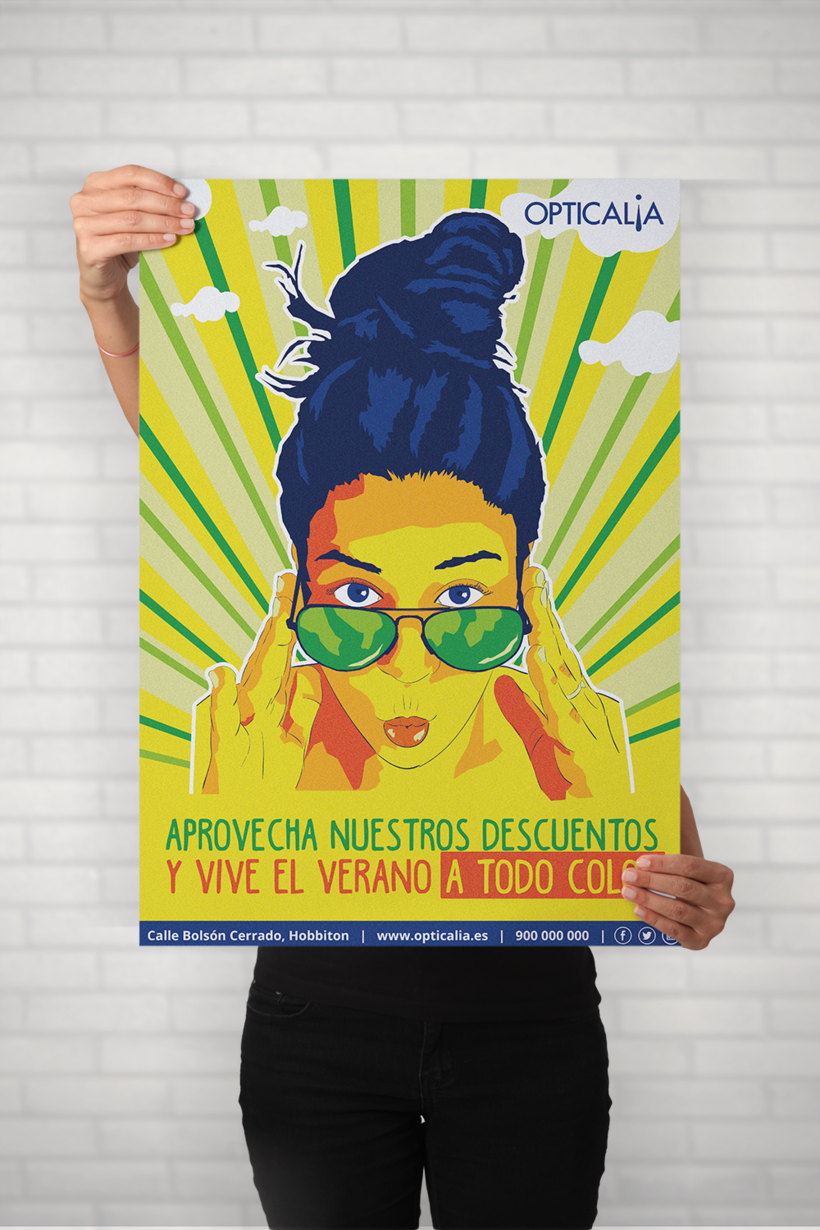 poster en grande illustrator