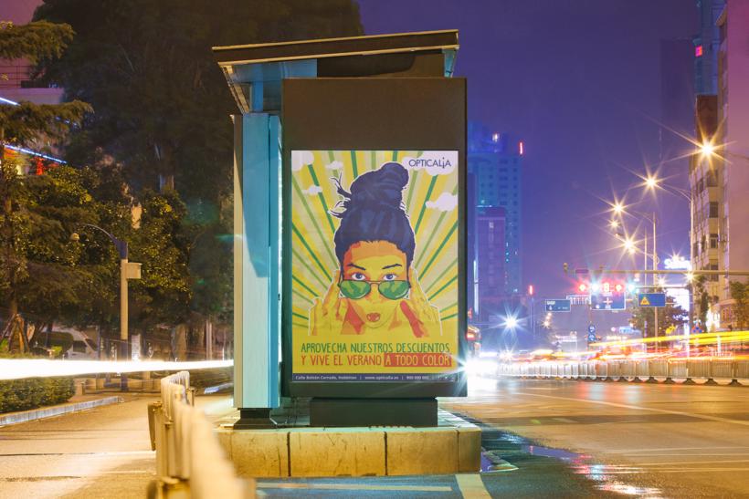 publicidad-calle-de-noche-illustrator