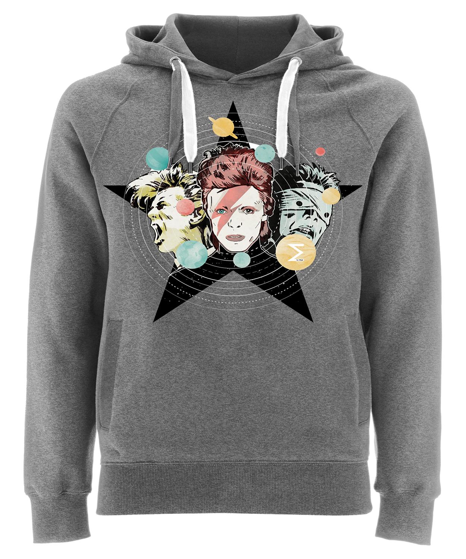 Sudadera Algodón Orgánico David Bowie