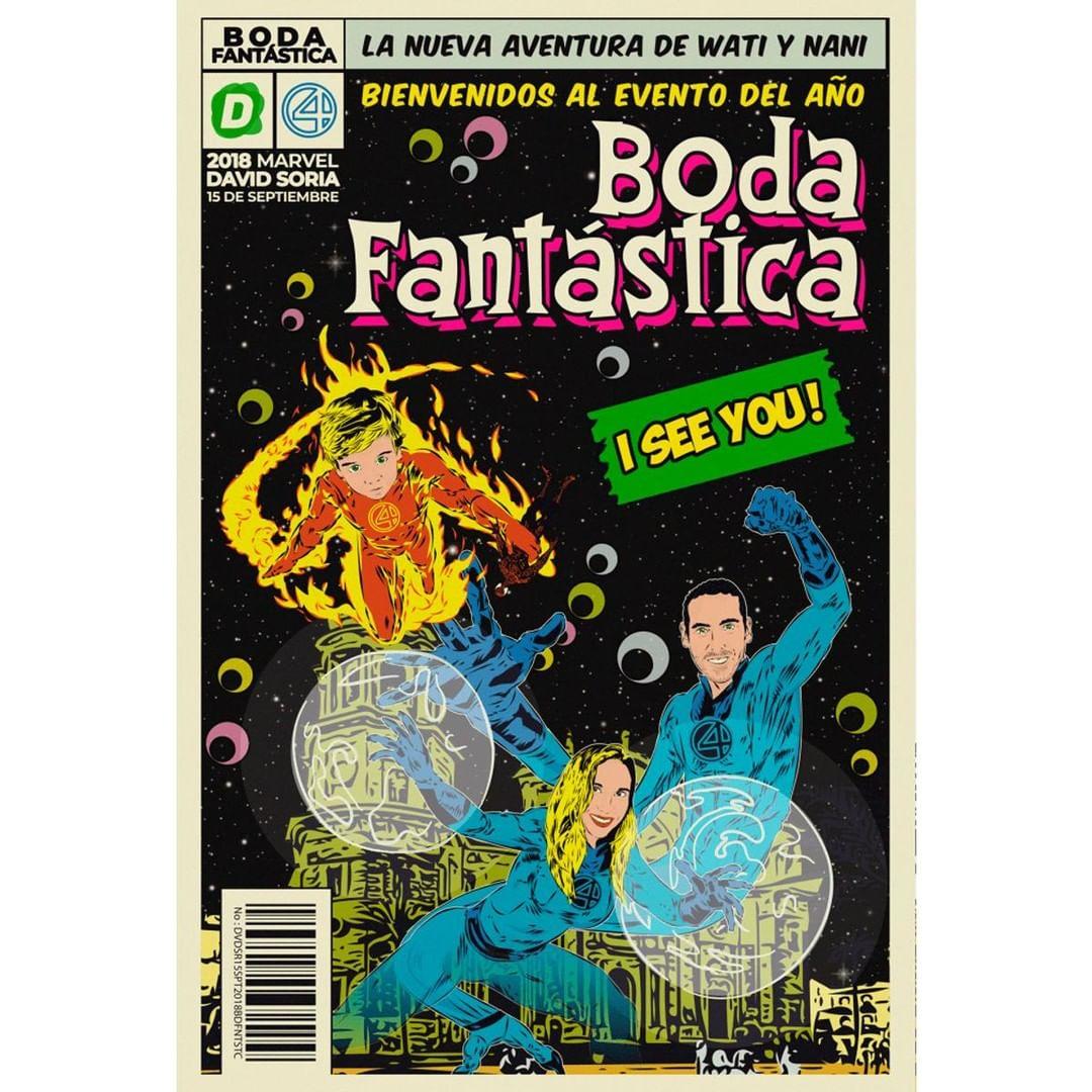 comic vintage personalizado 2