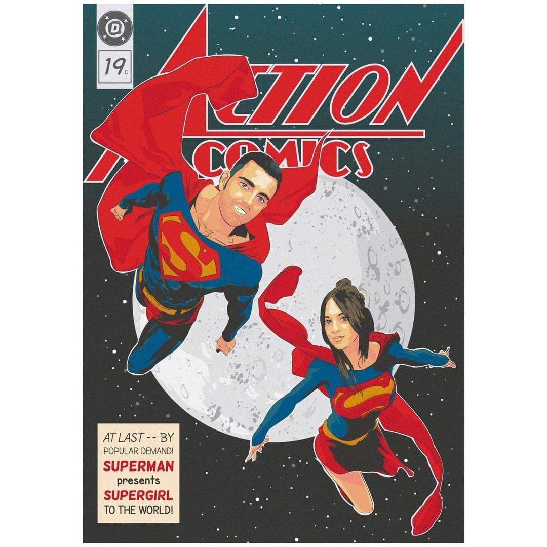 comic vintage personalizado 6